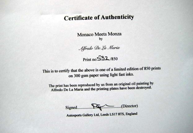 """""""Monaco Meets Monza"""" - Alfa Romeo Monza #28/Nuvolari (Winner) - Alfa Romeo #2/Caracciola - Monaco Grand Prix - 1932"""