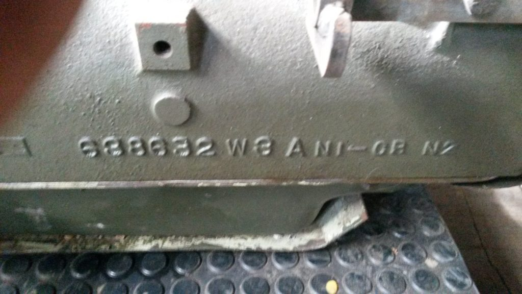 Jeep Willys MB Hotchkiss M 201 Fahrgestell