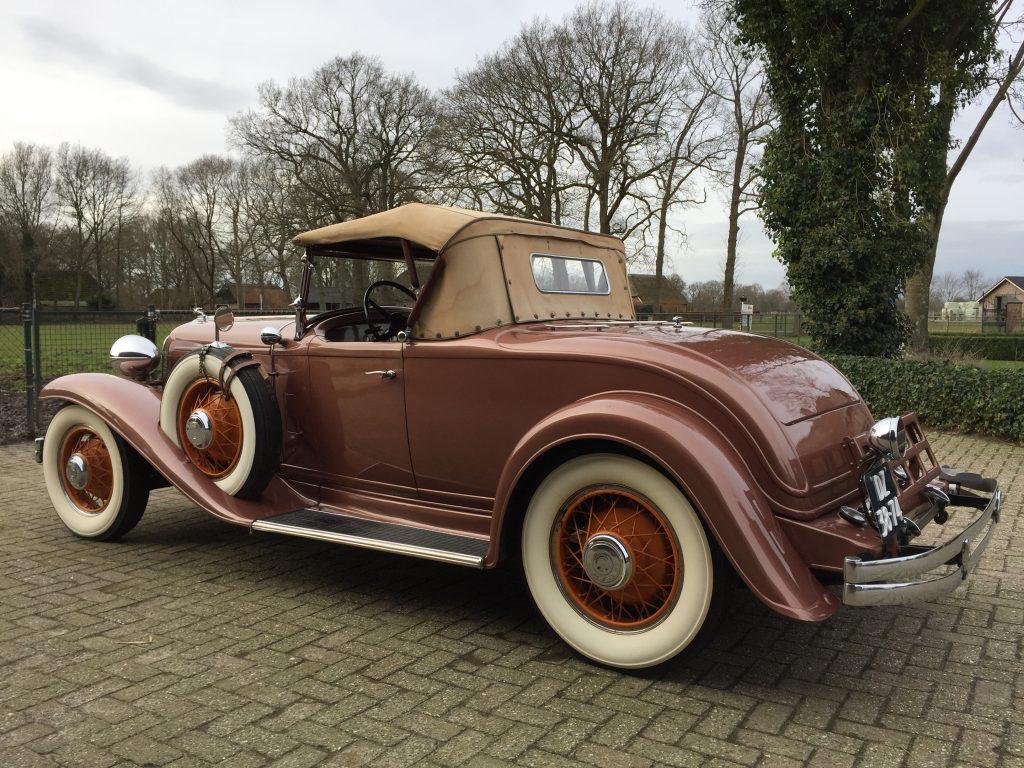 1931 Chrysler CD 8 Sport Roadster Le Mans