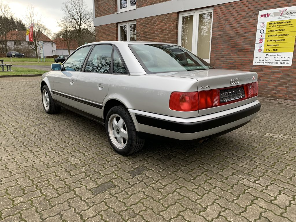Audi 100 S4 C4 - 72 tkm - letzter 5 Zylinder im Audi 100
