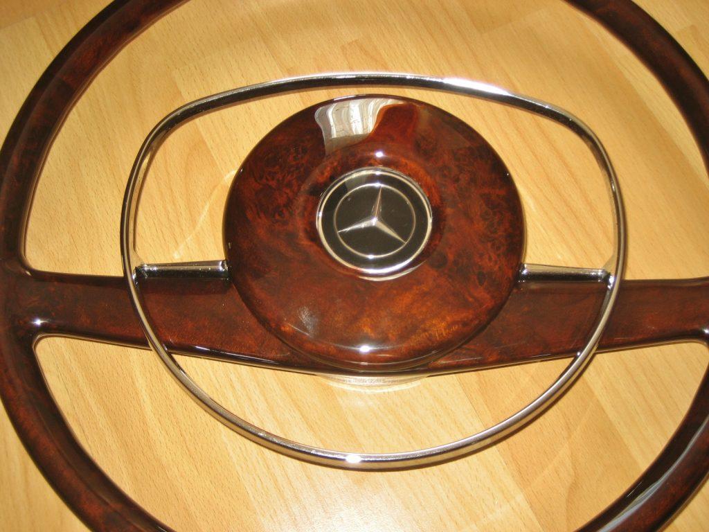 Mercedes Wurzelholz Lenkrad W108 W109 W111 W113 W114 Seltenheit für Serie 2 Rarität !