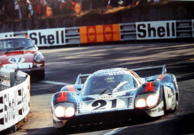 Porsche 917L #21 Vic Elford/Gerard Larrousse - Le Mans 1971