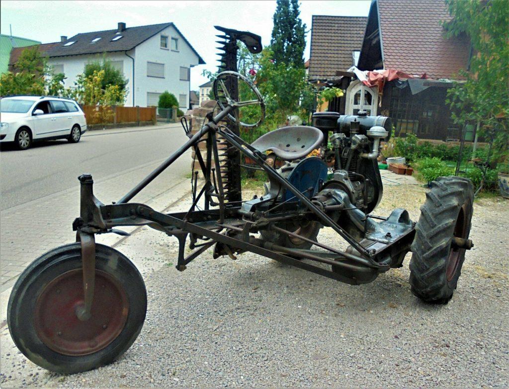 Oldtimer Kiwa Dreirad Traktor 40er 50er Jahre
