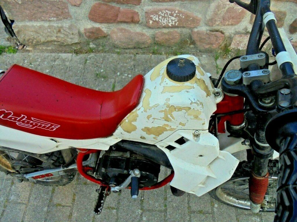 Oldtimer Kinder - Motorrad Malaguti