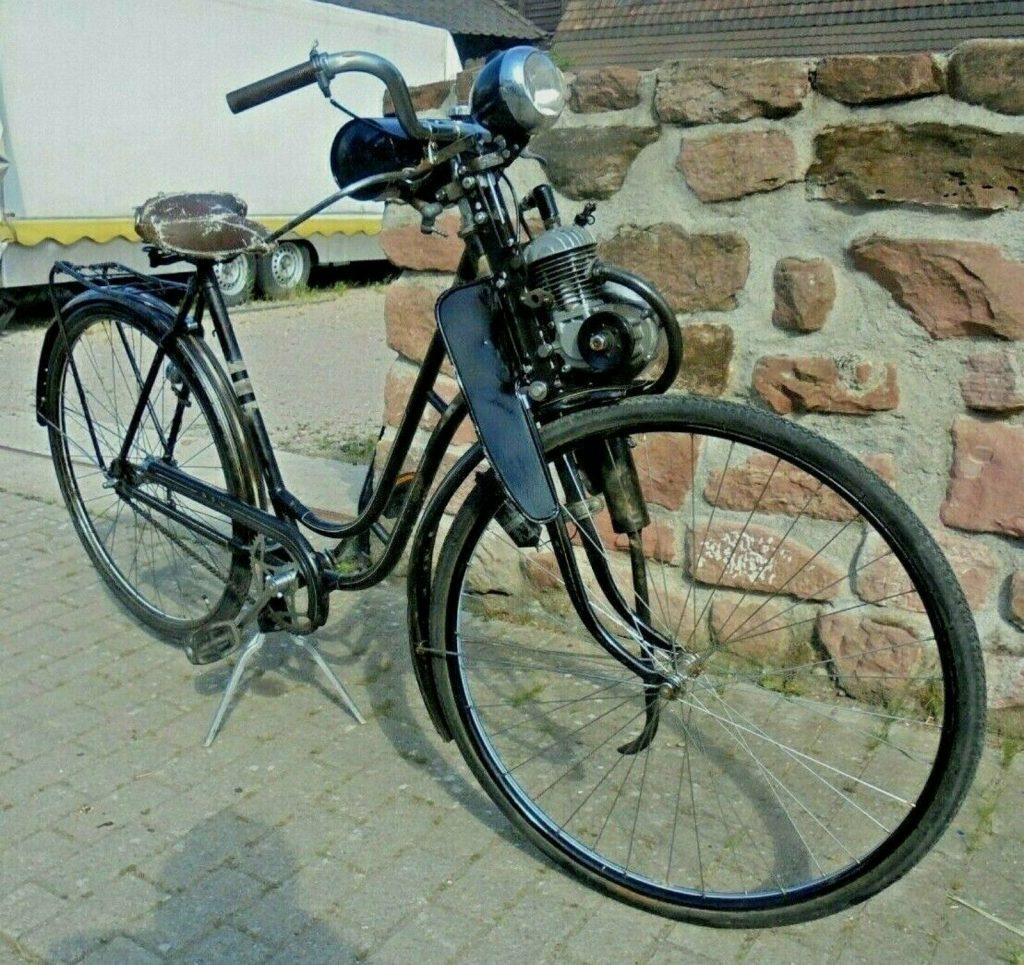 Oldtimer Motorfahrrad NSU REX 50er Jahre