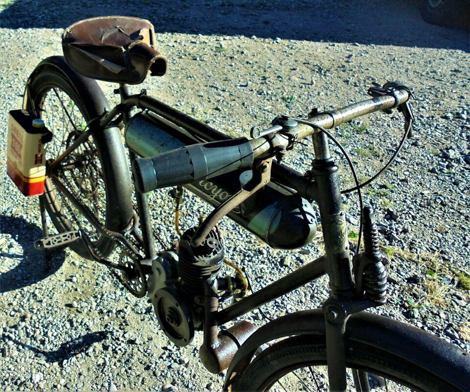 Oldtimer Motorrad Vorkrieg Alcyon Anfang 20er Jahre