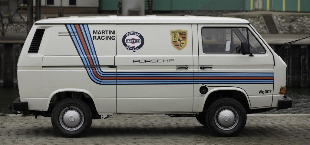 Volkswagen T3, T25, Martini Porsche