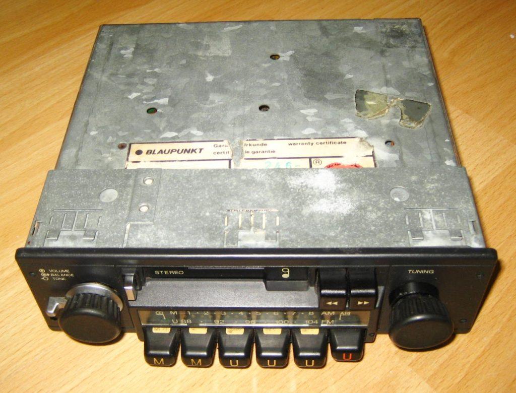 Blaupunkt Coburg M21 Oldtimer Radio CR aus 80er Jahre,Top Zustand