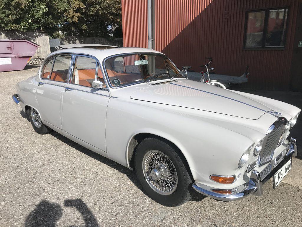 Jaguar 420 Schiebedach