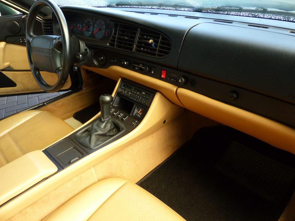 Porsche 968 aus 2. Hand, Oakgrün