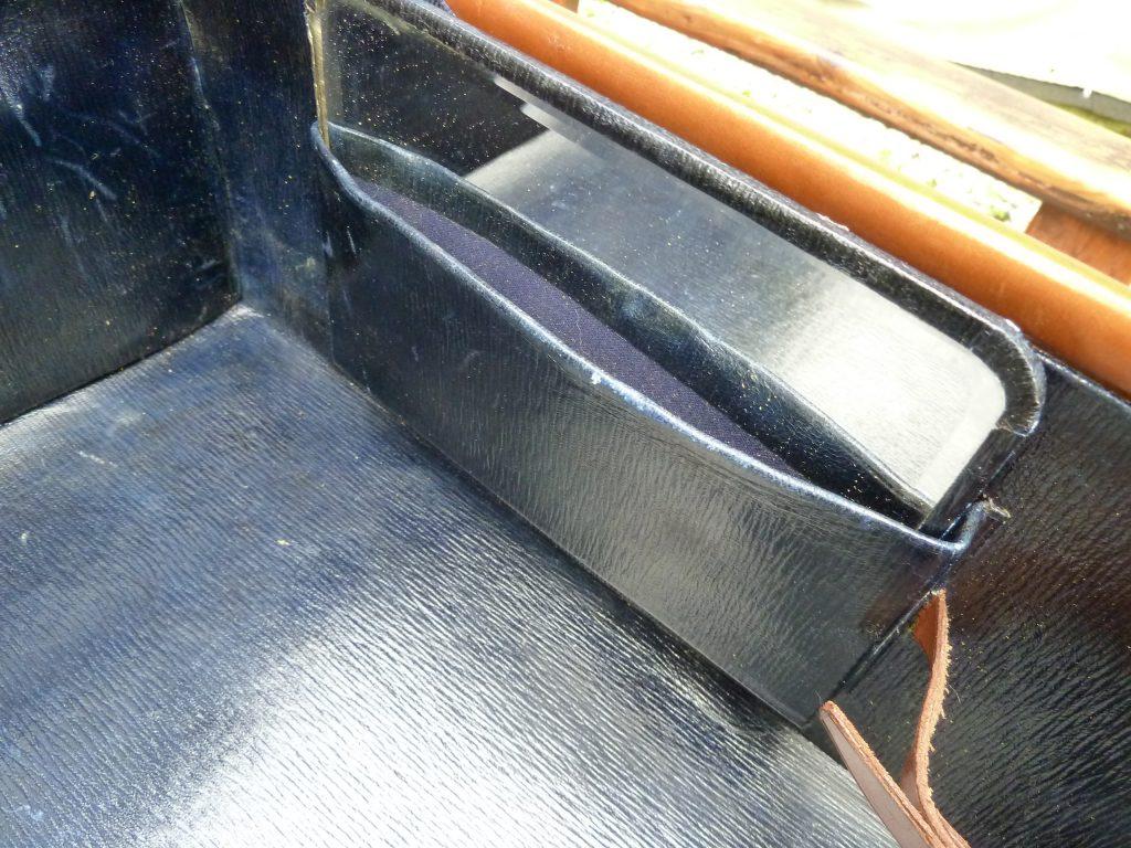 KOFFER-LEDERKOFFER -REISE-OLDTIMER-CLASSIC CAR-LEATHER SUITCASE-TRAVEL