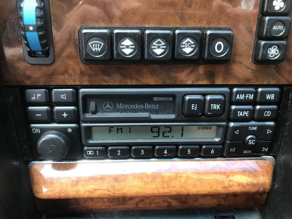 Mercedes Benz 560 SEL Oldtimer Automatic