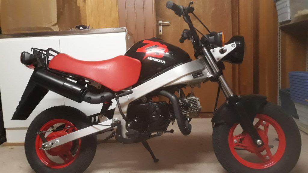 Verkauf Honda ZB 50 AB22