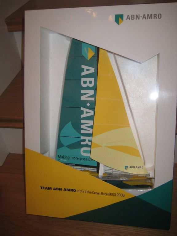 VOLVO Ocean Race BOOT from 2005 / 2006 Race, ABN Amro versions with white and with black body