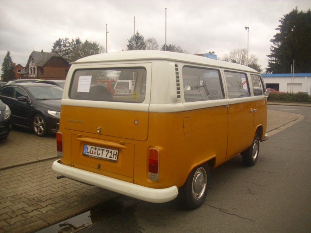 VW Bulli T2a Schiebedach