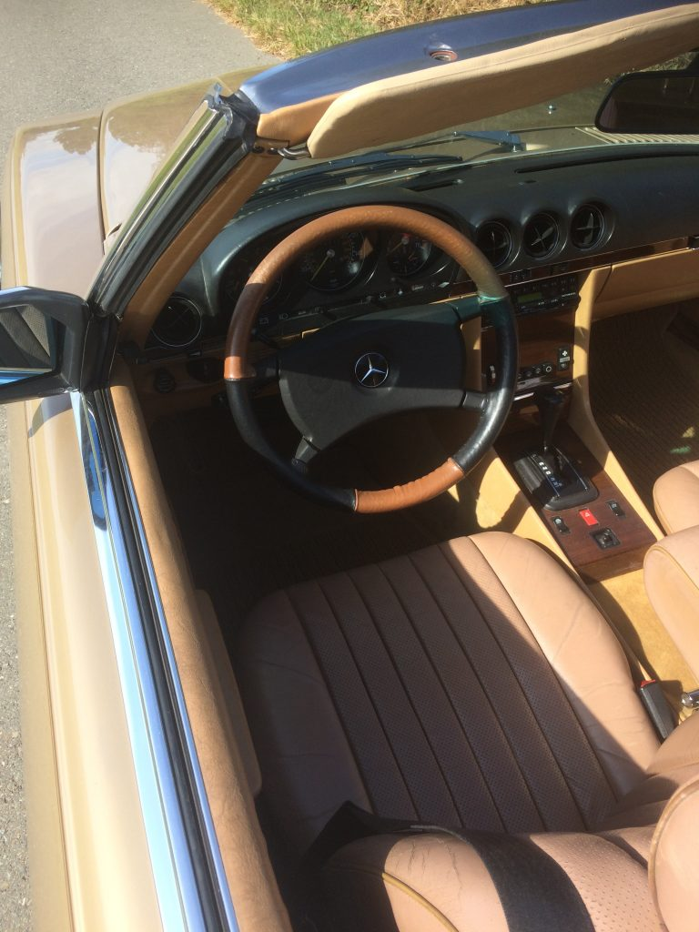 Mercedes Benz 380 SL aus 1. Hand Automatik