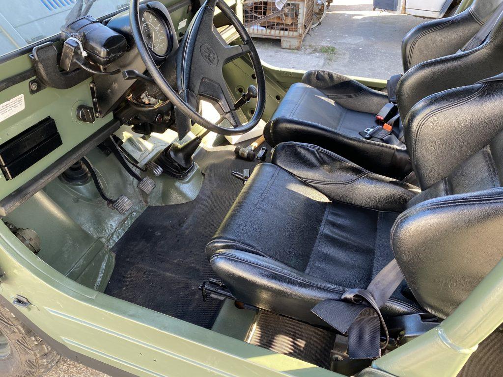 VW Iltis Oldtimer mit H-Zulassung