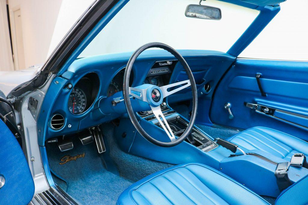 Chevrolet Corvette C3 Stingray Targa 427Ci/390Hp * Matching Numbers * Cortez Silver * Big Block *