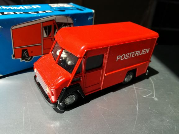 COMMER Lion Cars Modelcar. delivery car, Made in Holland