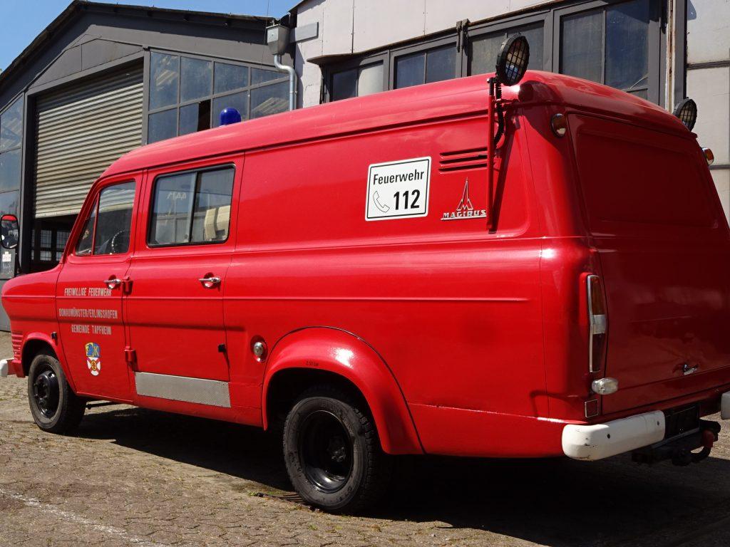 Ford Transit Feuerwehr mit erst 30.000 km