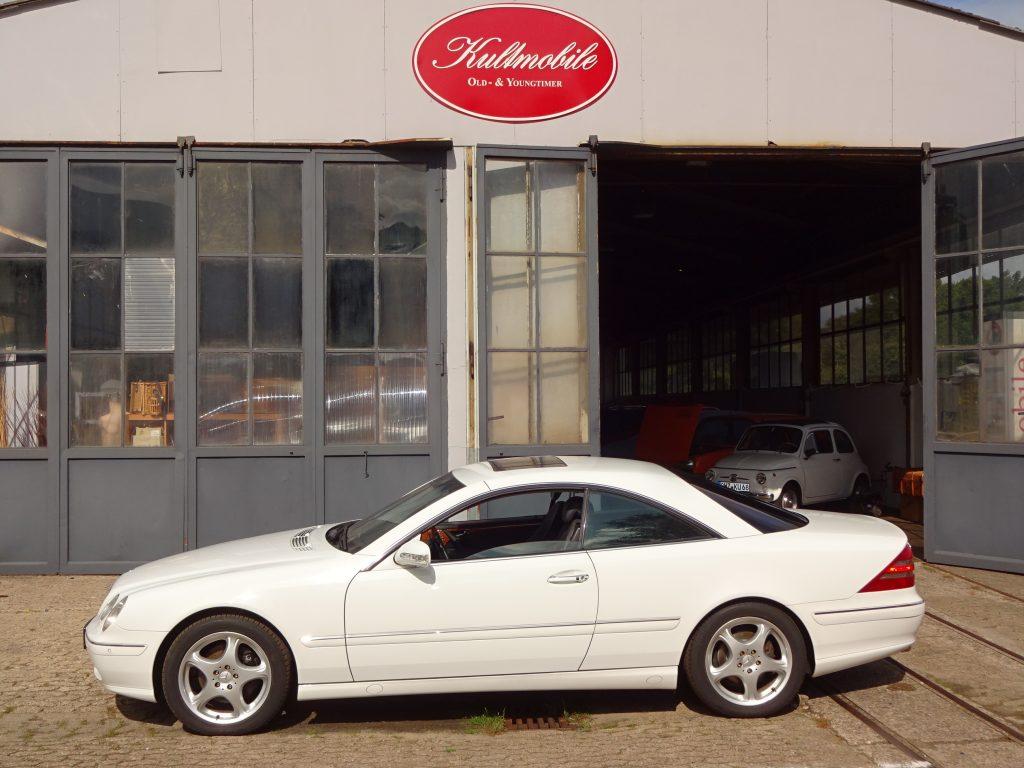 Mercedes W215 CL500 -orig. 55.000km-