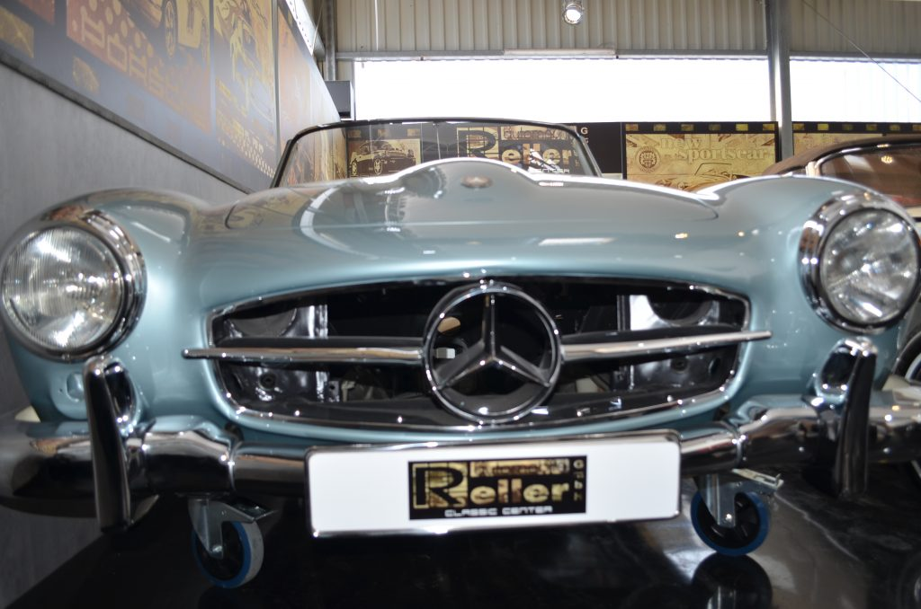 Mercedes-Benz 190 SL Projekt, frame-off Restauration, Zustand 1++