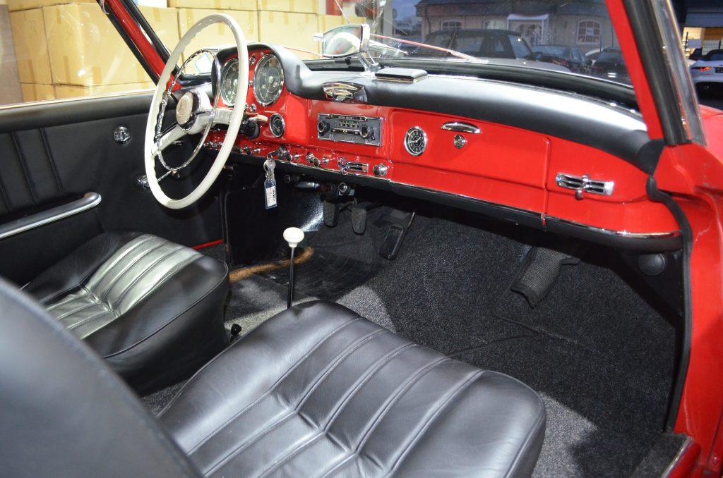 Mercedes-Benz 190 SL, Frame-off restauriert,