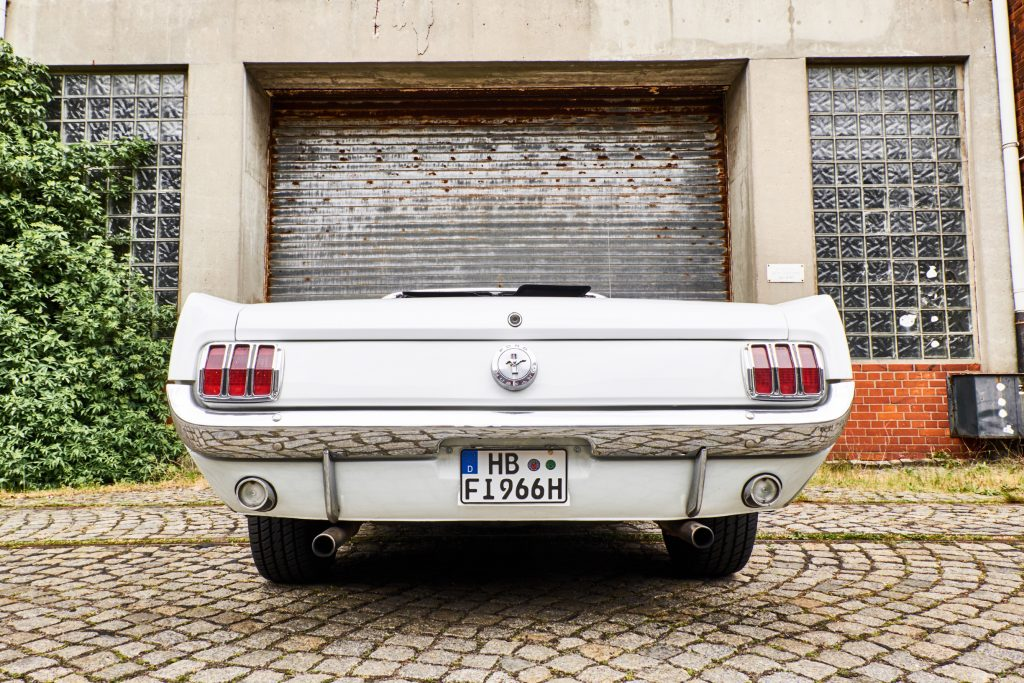 1966er Ford Mustang Cabrio V8 mieten oder als Gutschein