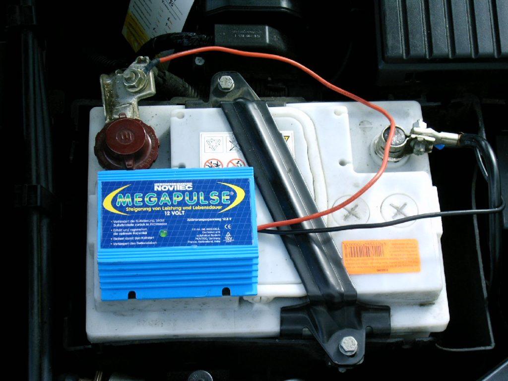 Megapulse - Starterbatterien leben länger