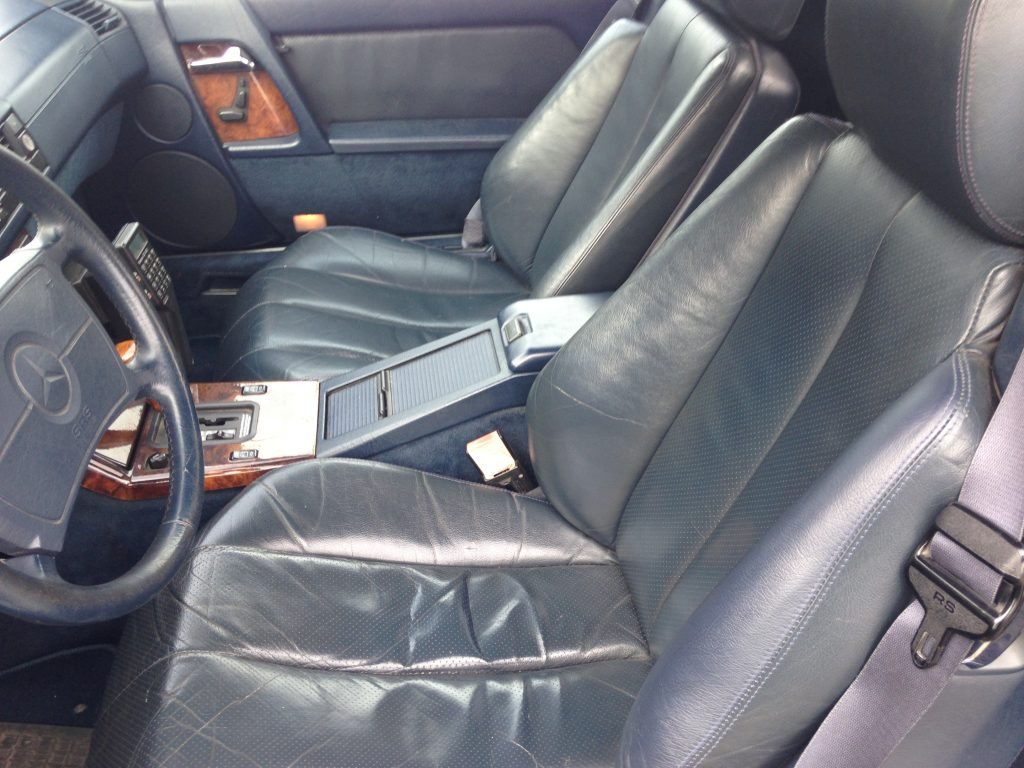 Mercedes 300 SL R 129 in schöner sportlicher Optik