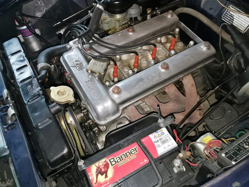 Gepflegter Alfa Romeo Guilia 1300 Ti