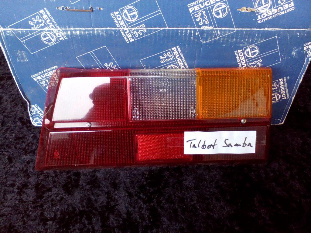 Talbot Samba Rückleuchtenglas NOS 97902018 80