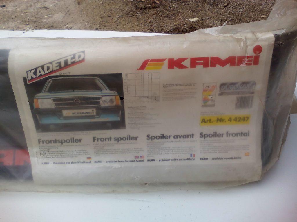 Opel Kadett D Frontspoiler Kamei NOS