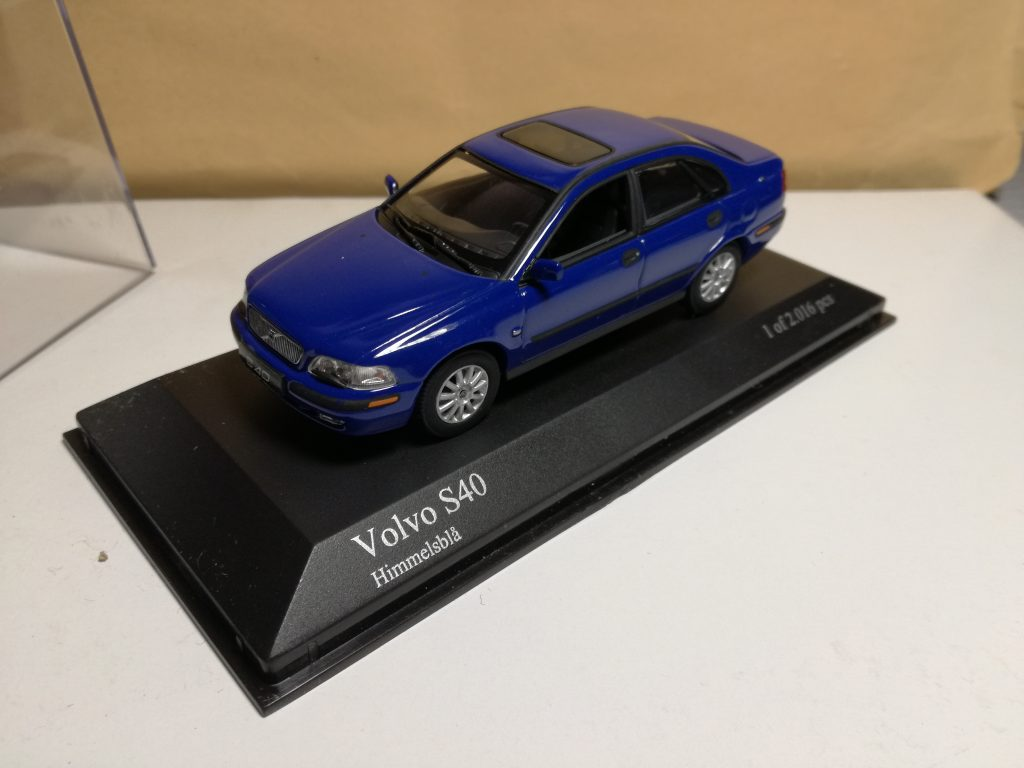 VOLVO ModelCars from Minichamps, S40, V40 from 1996 to 2004