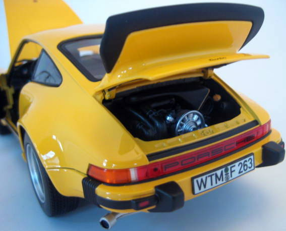 Norev - 1:18 - Porsche 911 Turbo 3.0 Yellow 1976 (G-Modell) - Limited Edition - Mint Boxed