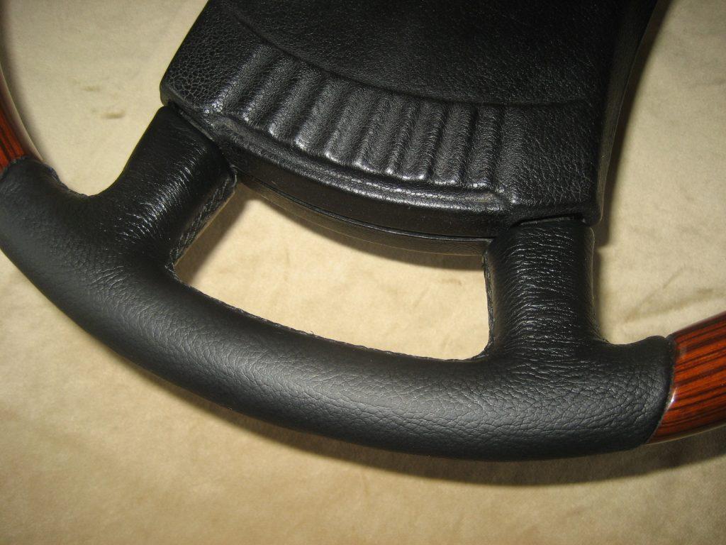 Mercedes Zebranoholz - Leder Lenkrad W107 W108 W115 W116 W123 Neu