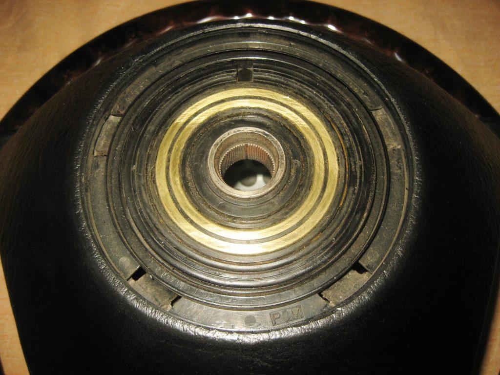 MERCEDES WURZELHOLZ-LEDER SPORT LENKRAD W107 W124 W123 W126 W201 NEU!