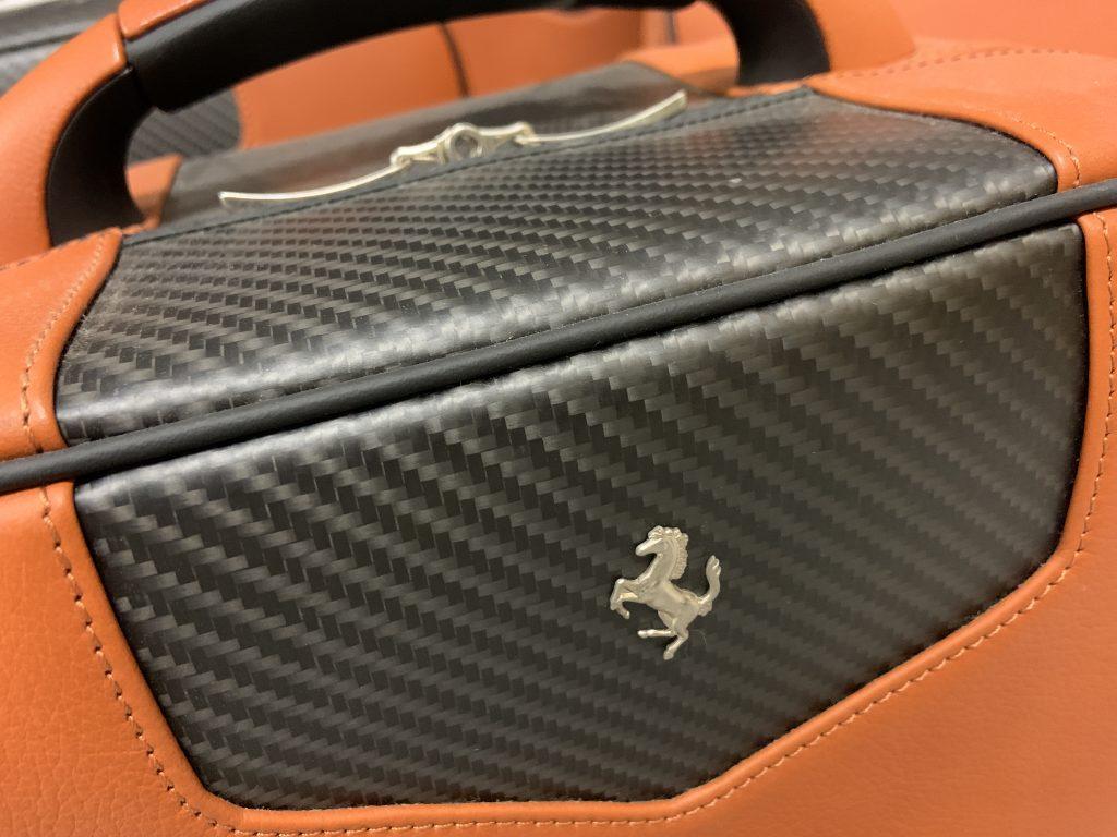 Original Ferrari Schedoni 575 Superamerica Koffersatz unbenutzt