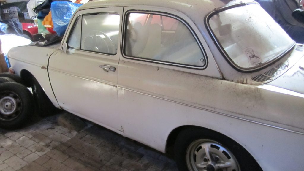 VW 1600L Limousine Automatic weiß Sportstahlfelgen