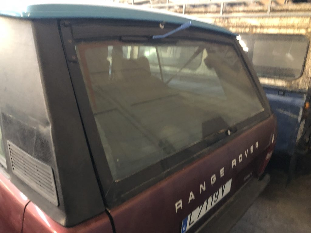 Range Rover Classic   3 Doors   Diesel   Restaurationsobjekt