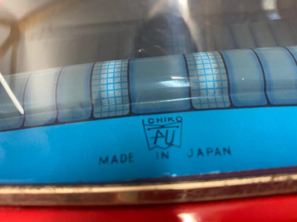 Mercedes XXL: rares Maximodell 220 SE Coupé komplett aus Blech von Ichiko