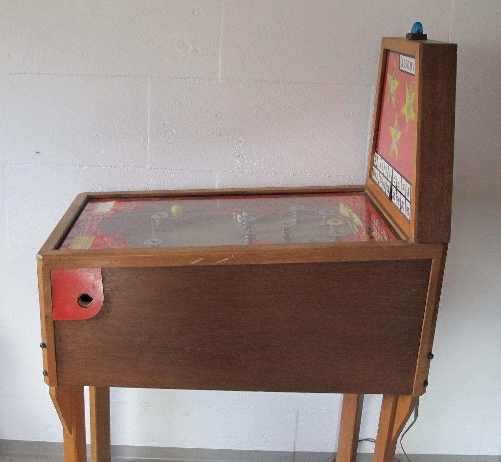 Flipper Assomat Holz ca. 1950er Jahre