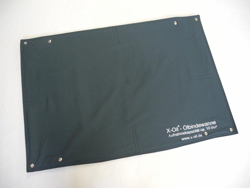 X-Oil flexible Ölbindewanne, reinigungsfähig, Format: 60 x 90 x 5 cm