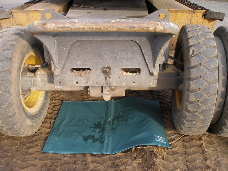 X-Oil Ölbindematte Format 40 x 60 cm, reinigungsfähig, undurchlässige Rückseite