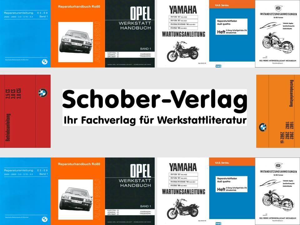 Schober-Verlag Werkstattliteratur / Workshop Literature