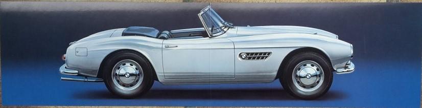 Technical Arts Hochglanzpapier Kunstdruck   -- BMW 507 Roadster