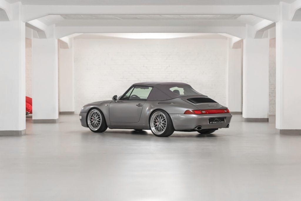 Porsche 993 Carrera Cabriolet Perfektionsaufbau!