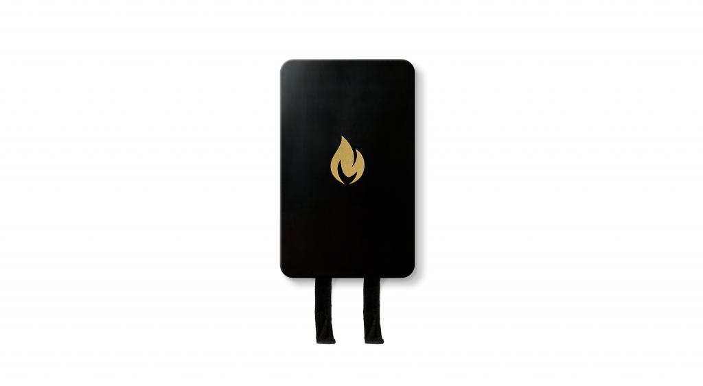 Löschdecke schwarz-gold Design Lifestyle