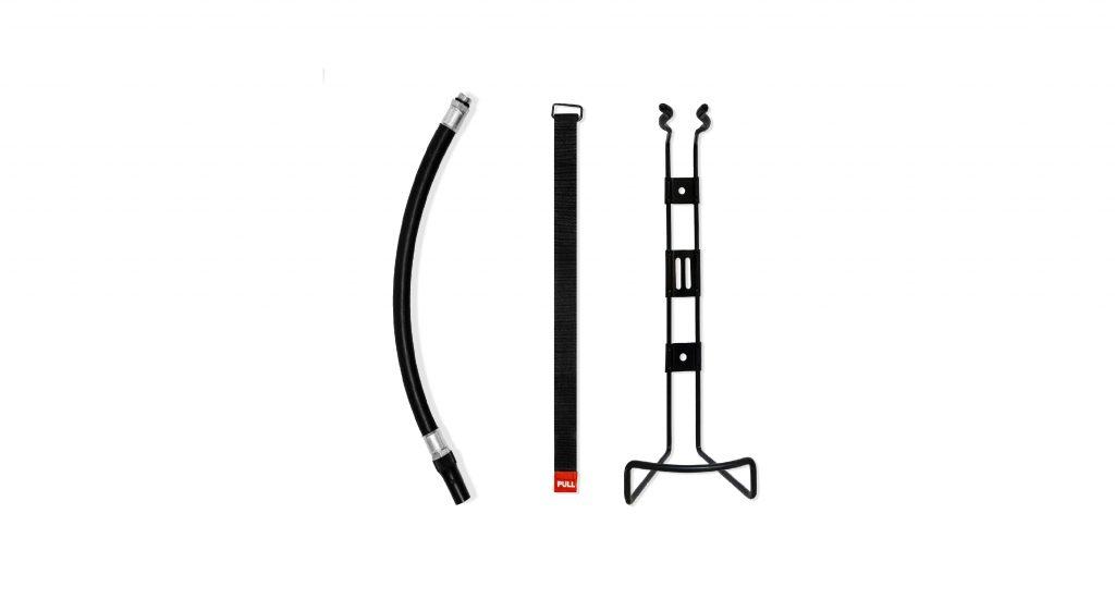 Feuerlöscher Design-Feuerlöscher schwarz 2kg fire extinguisher