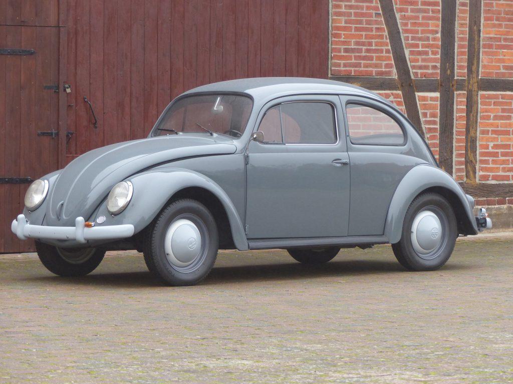 VW Käfer Standard Bj. 1958 jupitergrau